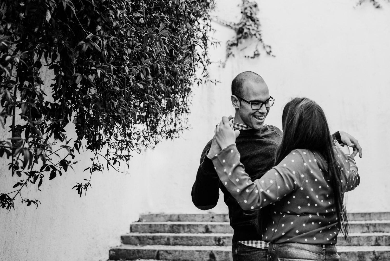 Reportaje de preboda en Granada