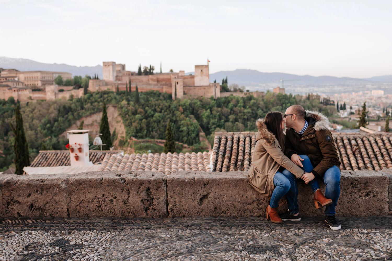 Fotos de preboda en Granada