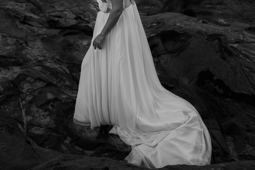 Detalles del traje de novia