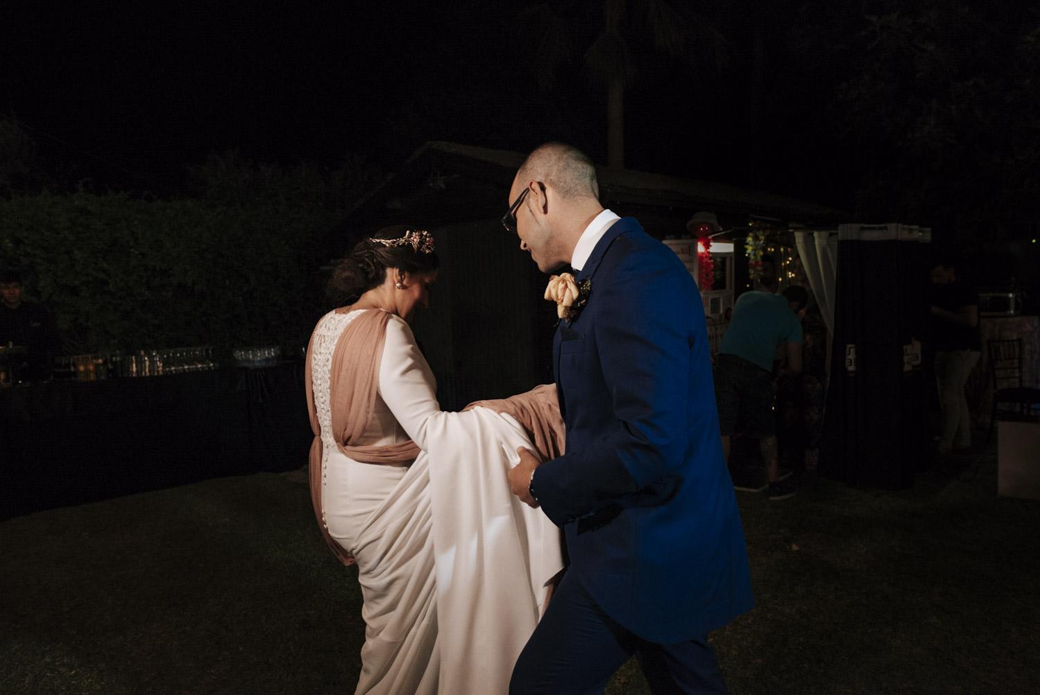 primer baile de Alberto y Bianca