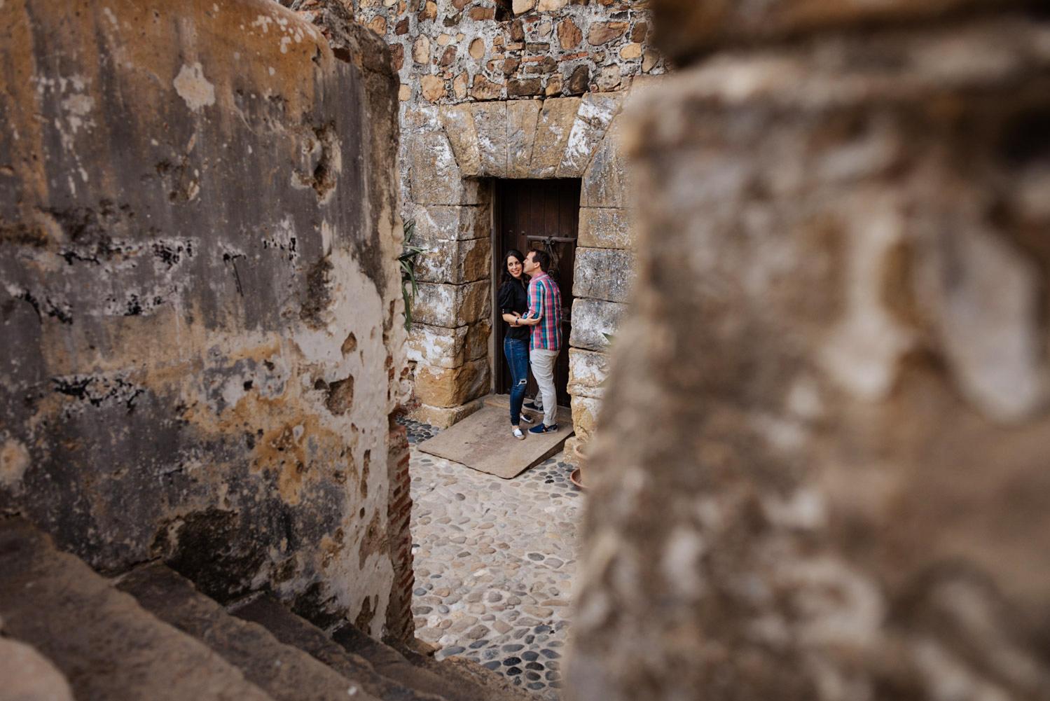 Preboda en el castillo de Sabinillas
