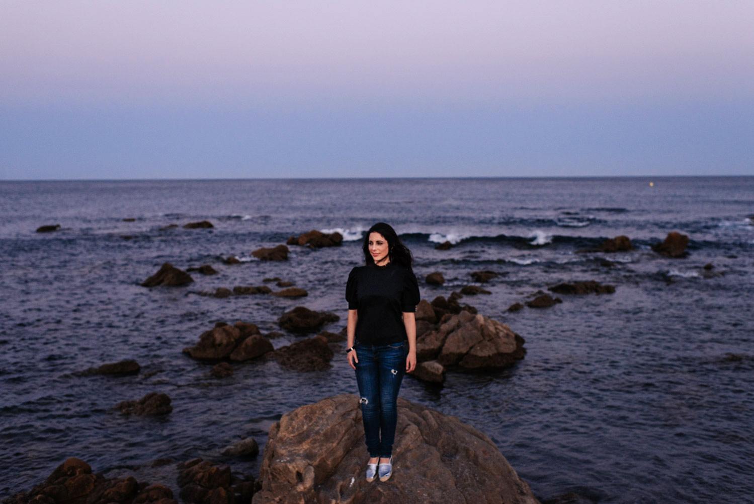Retratos en el mar
